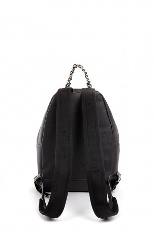 Moschino Women/'s backpack faux leather #Ratàporter Capsule black